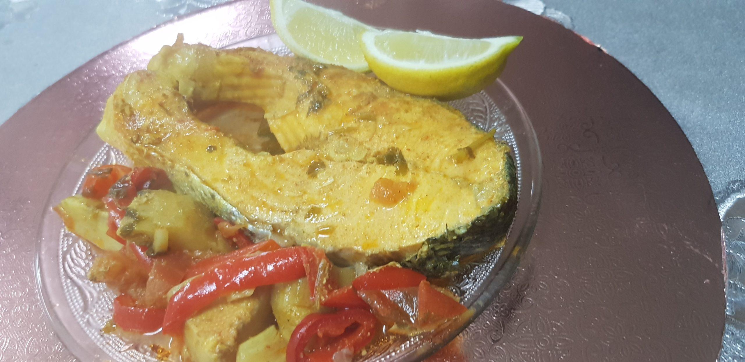 Saumon à l'orientale prêt en 15 minutes !