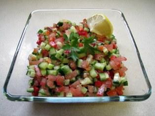 La recette originale de la salade israélienne