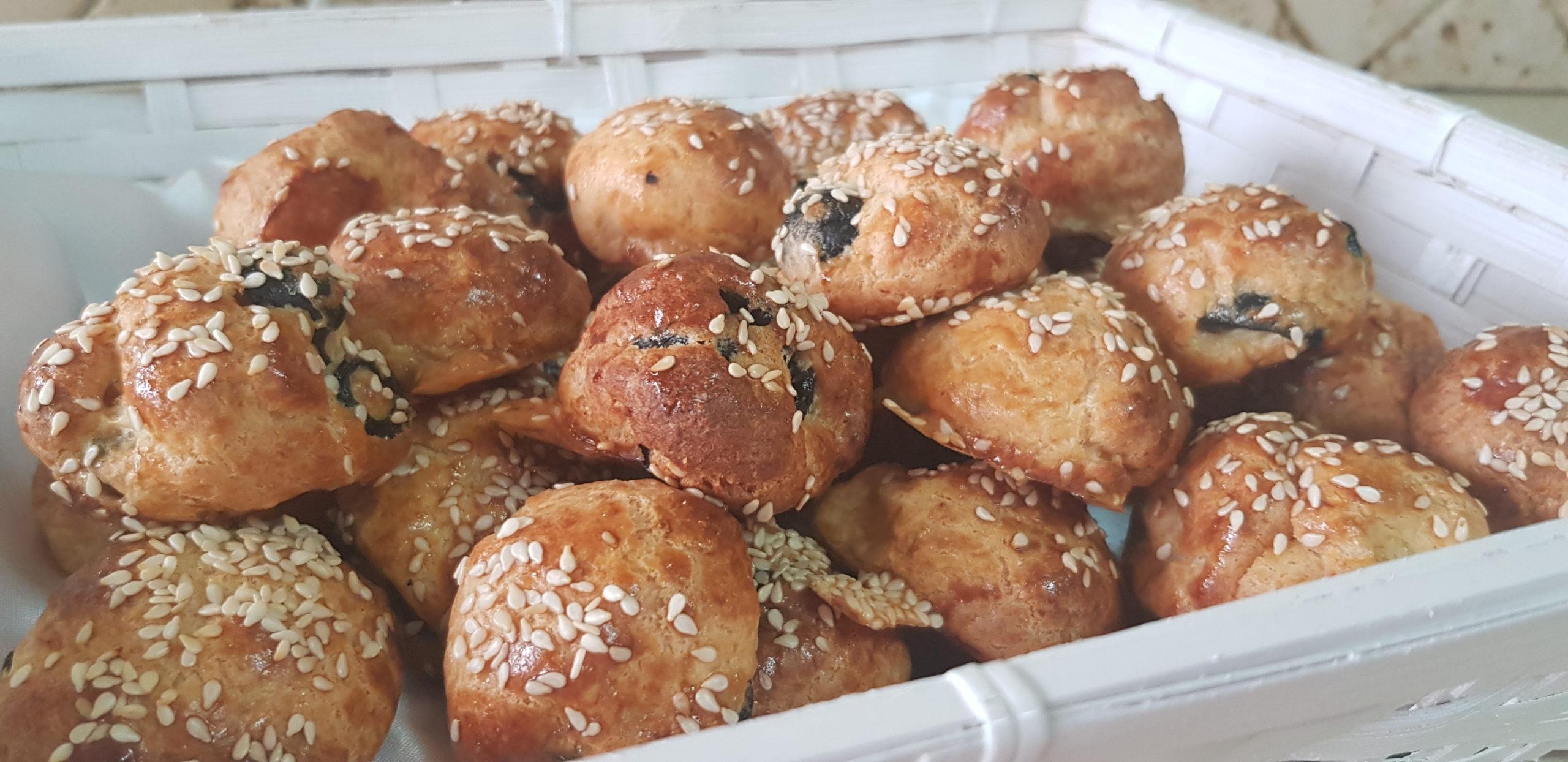 Les petits pains aux olives de Pessah