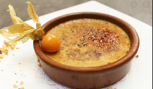 Crème brûlée pour Pessah !