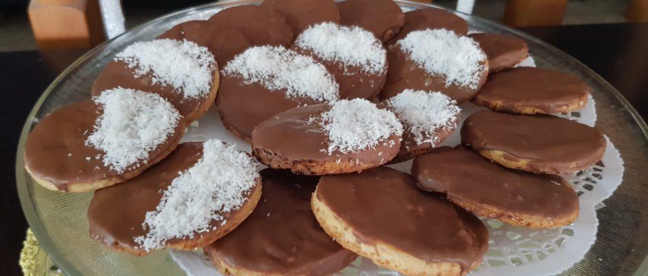Biscuits Granola aux chocolat au lait/coco fait maison !