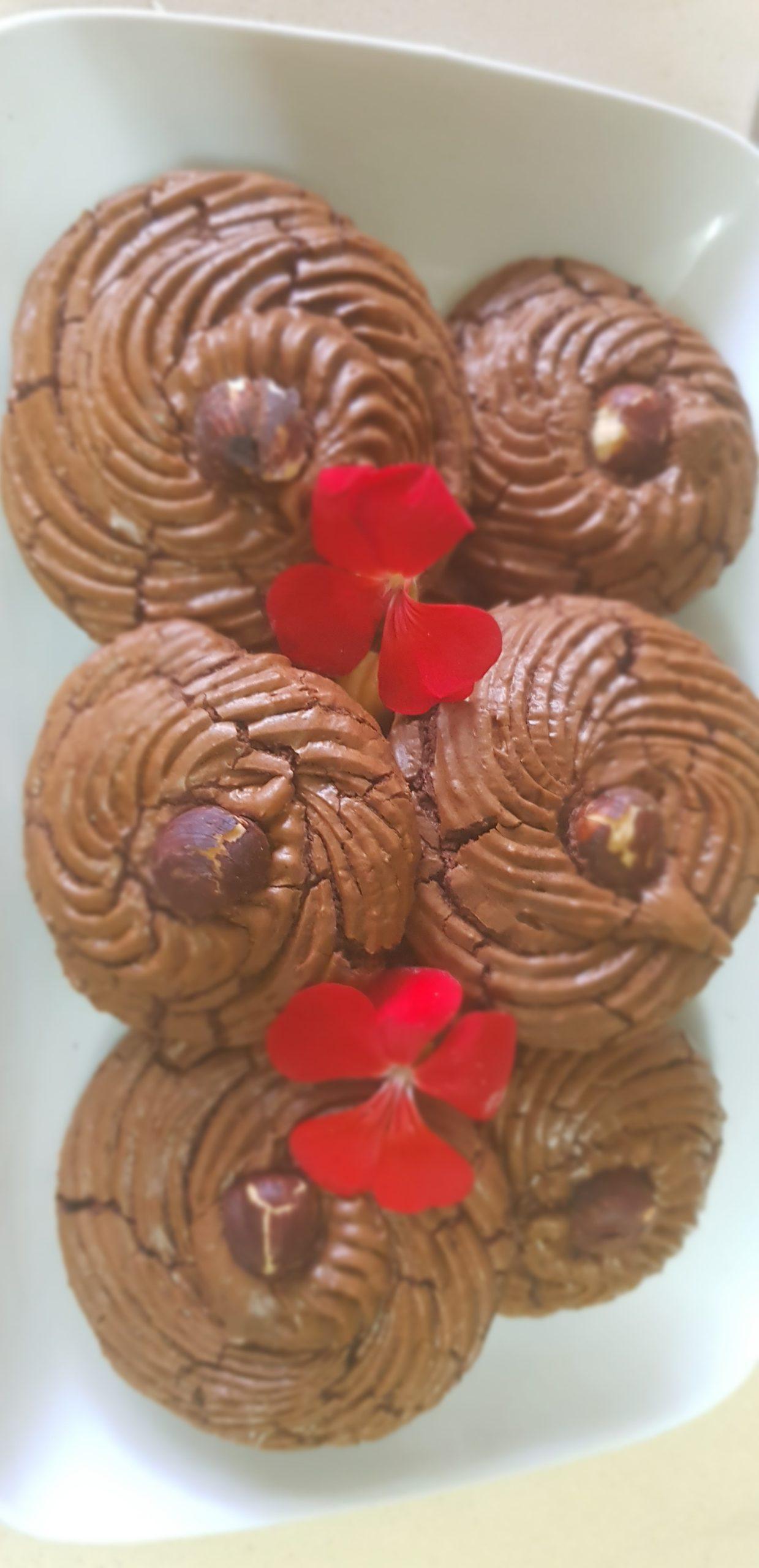 Les biscuits Fudgy Brownie au chocolat fondant