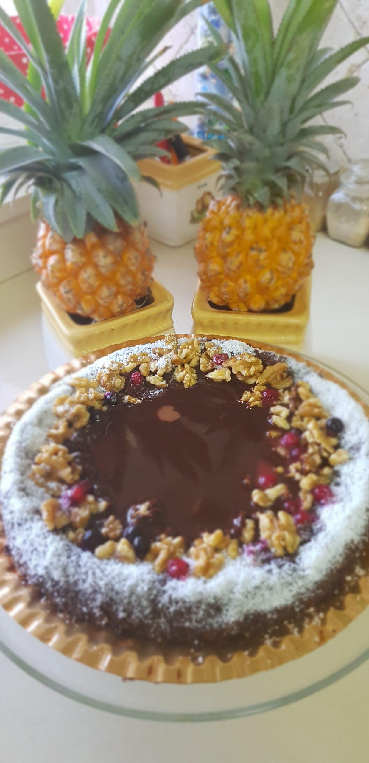 Le gâteau aux noix, chocolat et coco préféré des enfants !