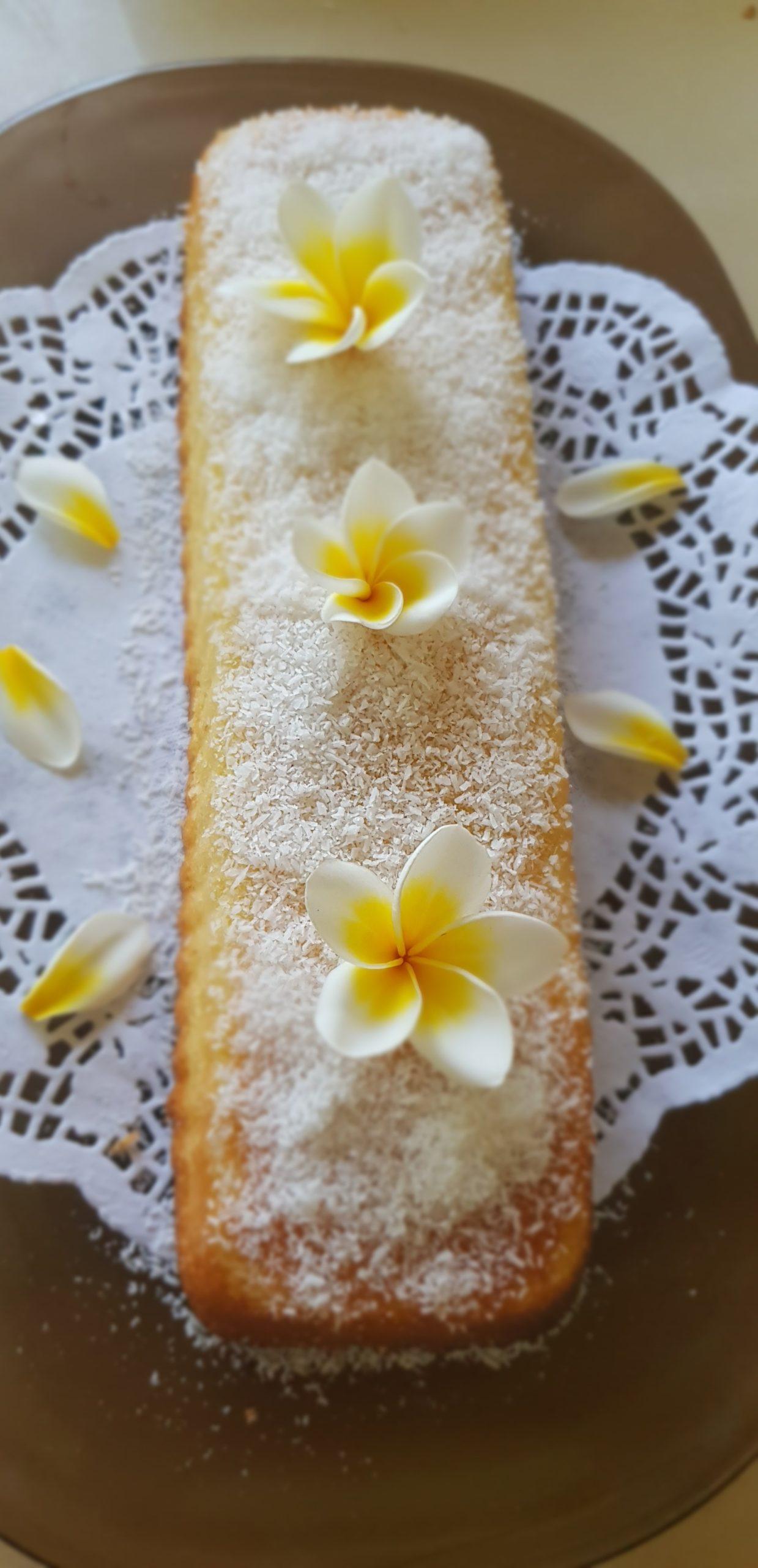 Gâteau léger à la semoule et au coco