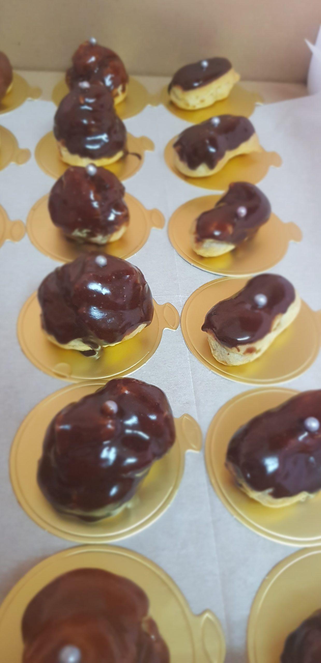 Les minis choux au chocolat et café (recette facile)
