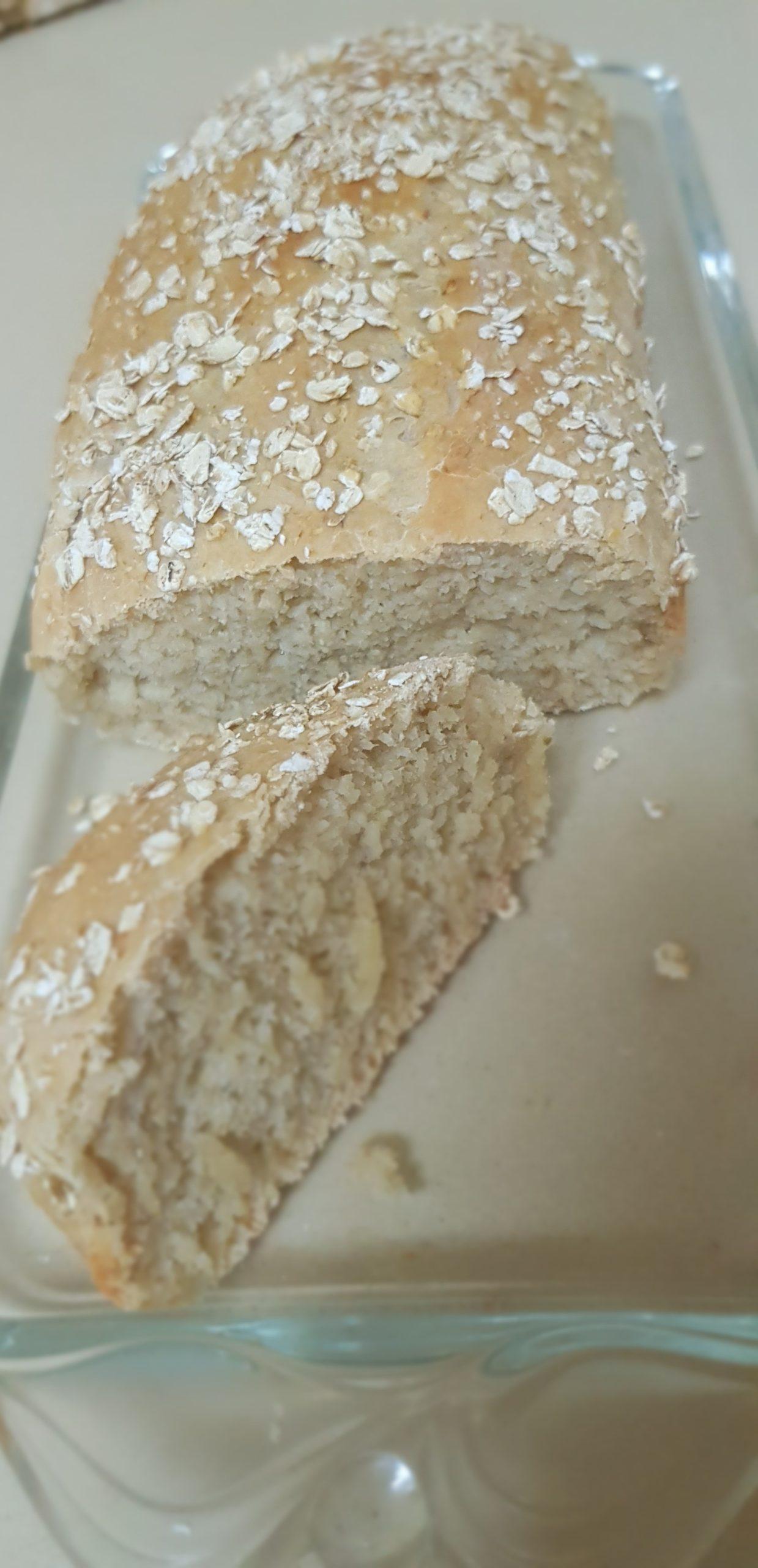 Recette facile de pain à l'avoine