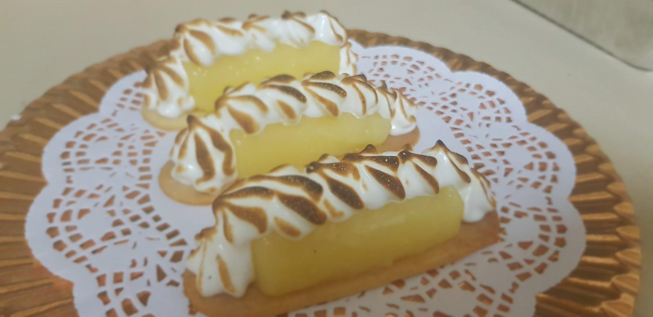 Mini tarte citrons revisitées