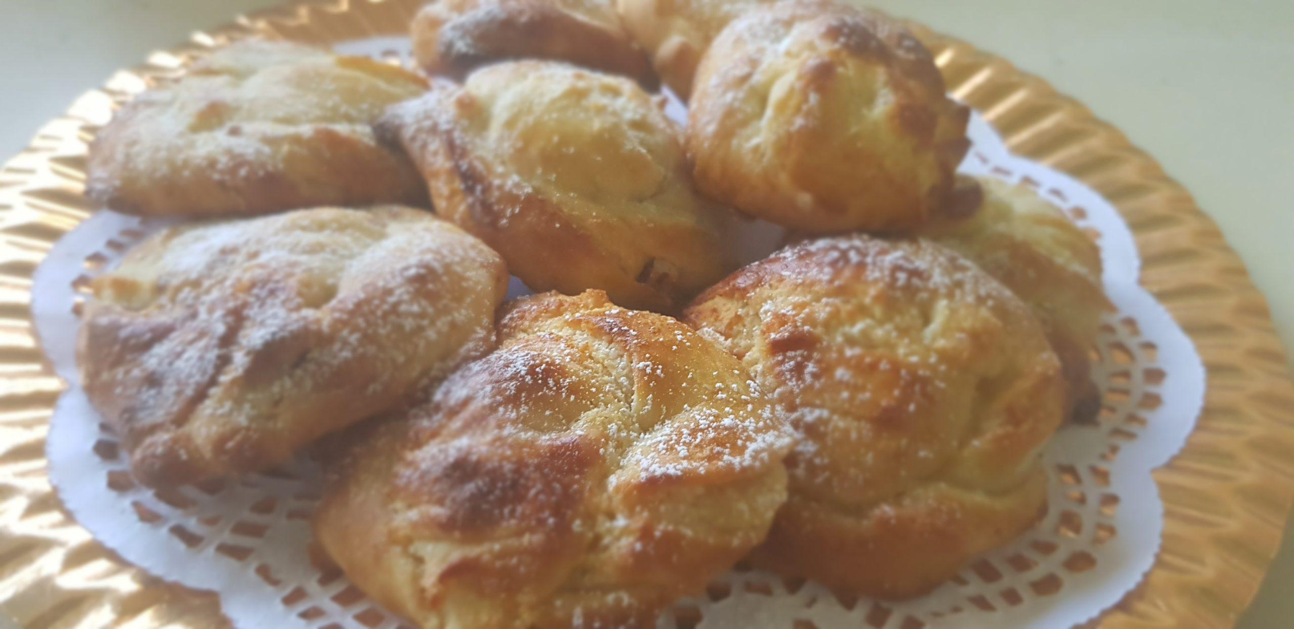Brioches torsadées à la crème d'amandes et noix de pecans