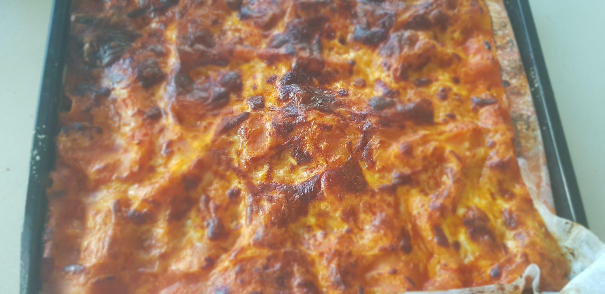 Lasagnes aux trois fromages à l'israélo-italienne  !