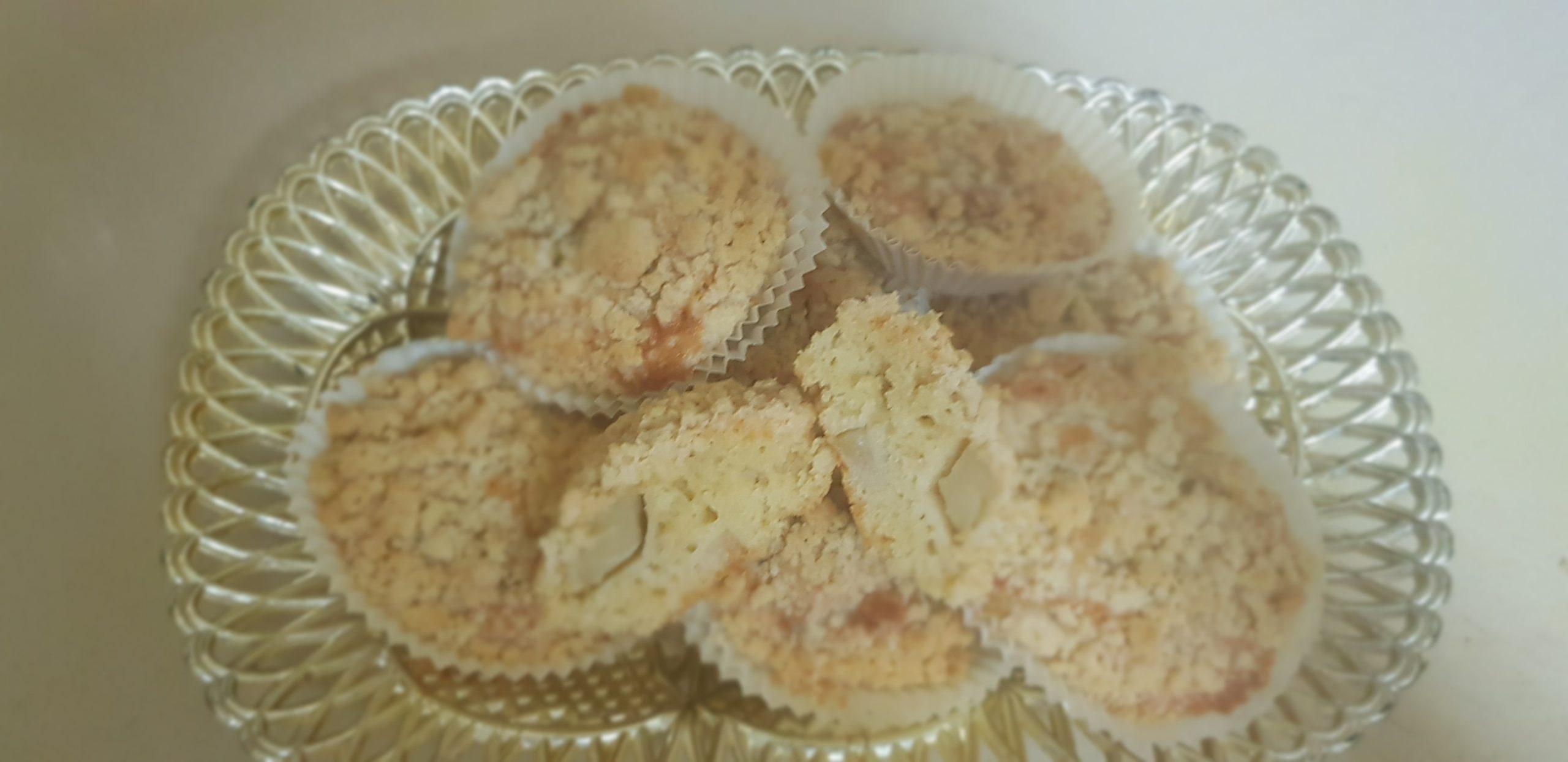 Les muffins crumble aux pommes