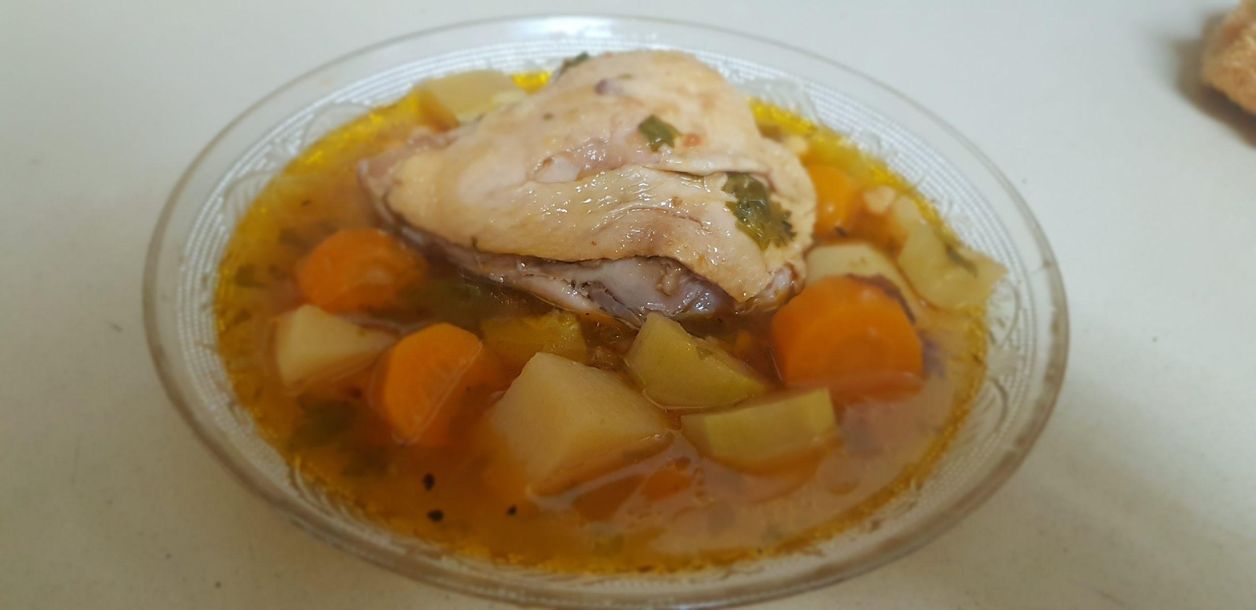 Le bouillon de couscous tunisien ( recette de Virginie)
