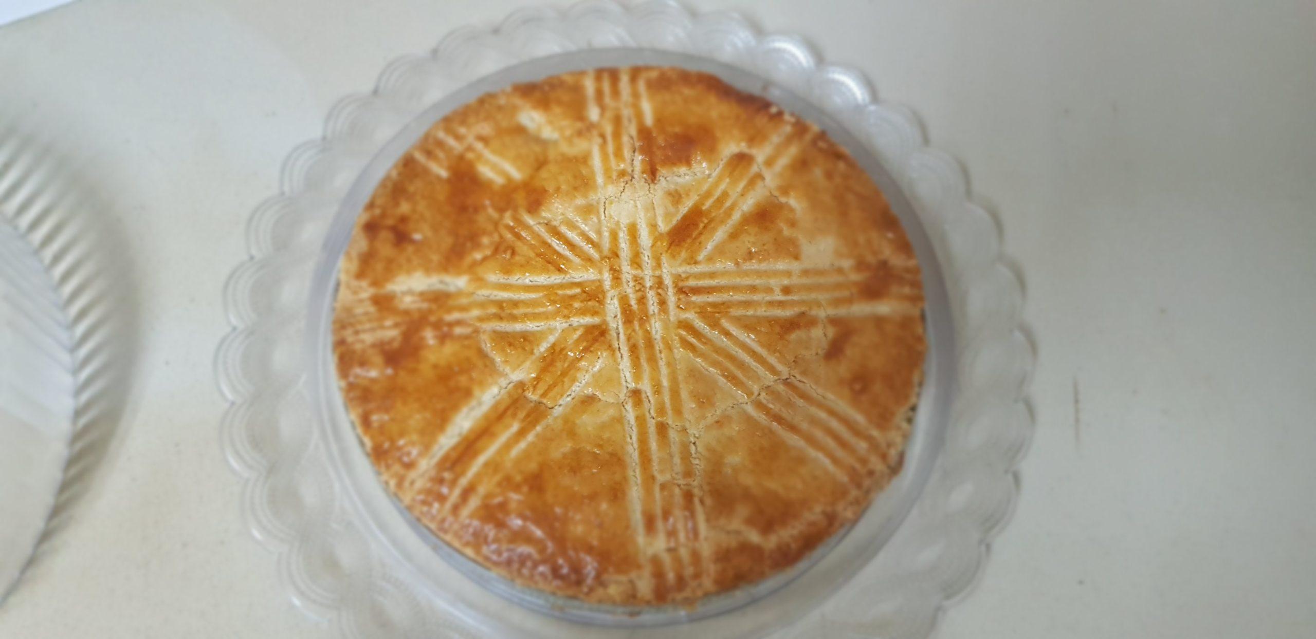 Le gâteau Basque à la crème pâtissière au rhum