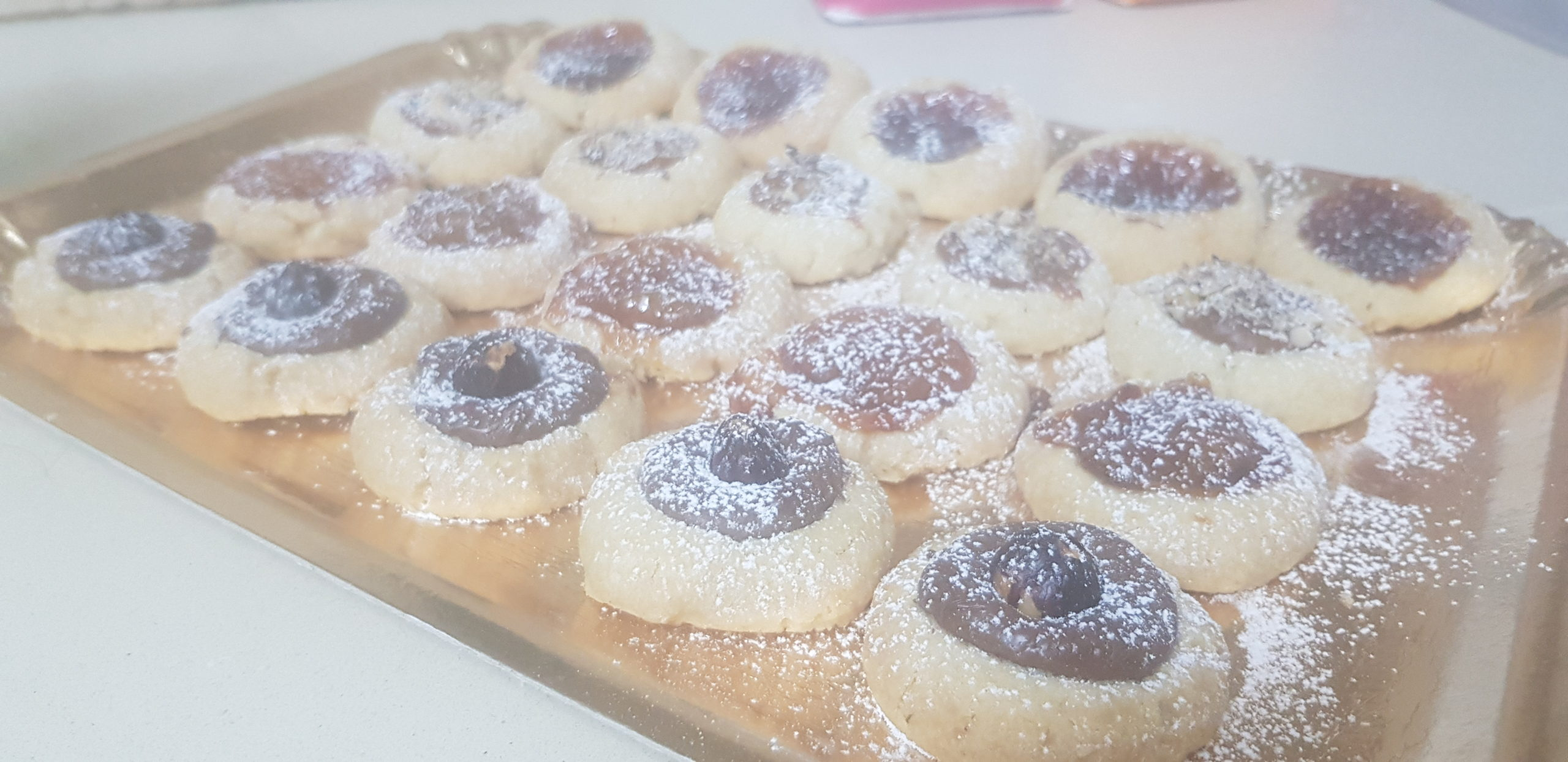 Les biscuits fourrés et fondants