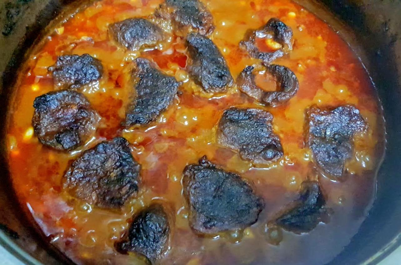 Haricots blancs et viande fondante cuite au four