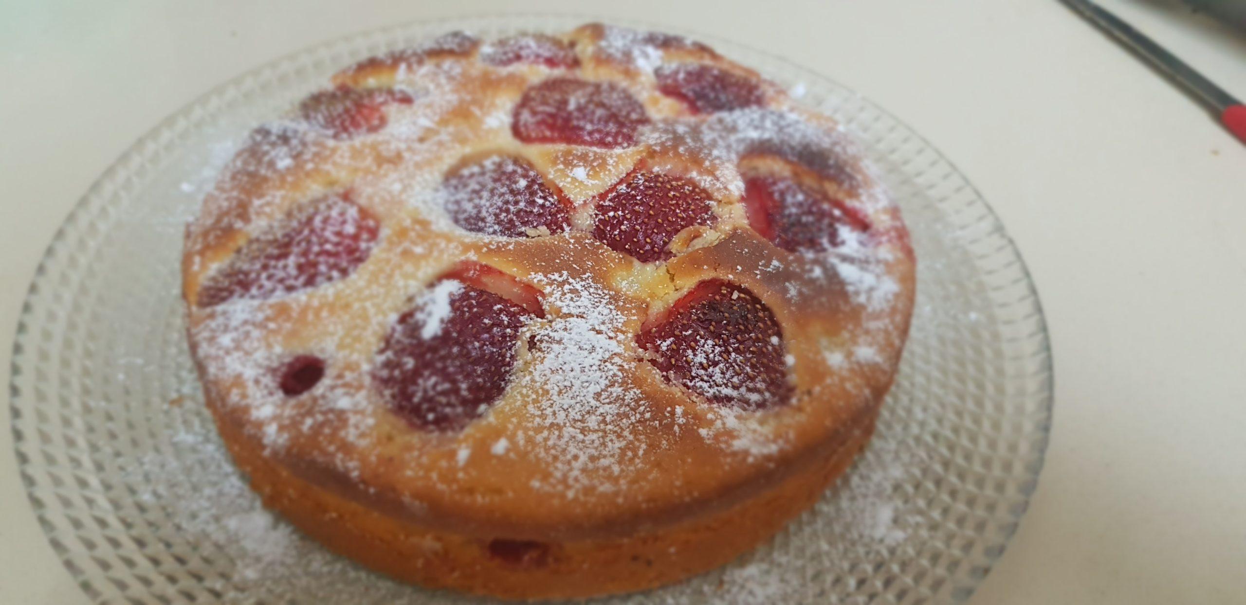 Recette de gâteau aux fraises rapide et facile
