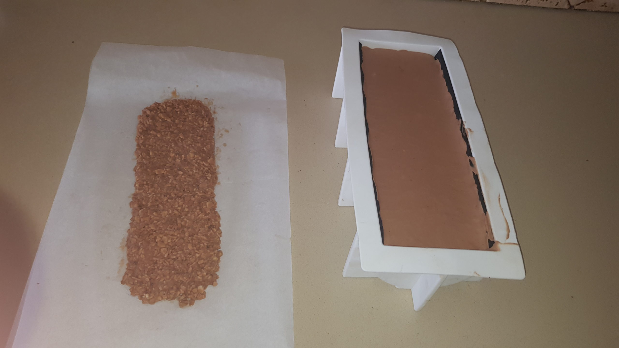 Technique pâtisserie : Biscuit croustillant pour fond de gâteau ou insert pour entremet