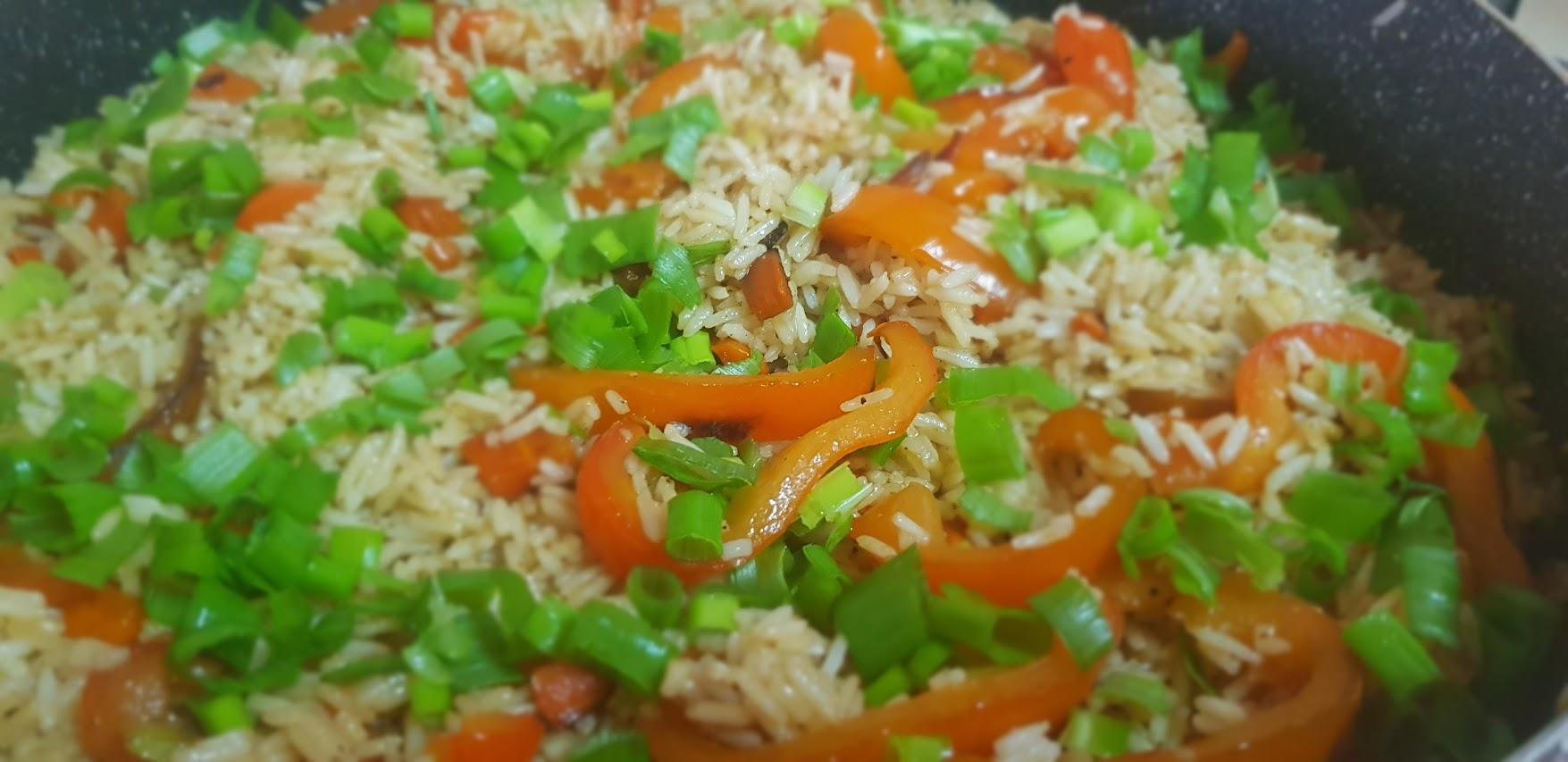 La meilleure recette du riz sauté aux légumes !