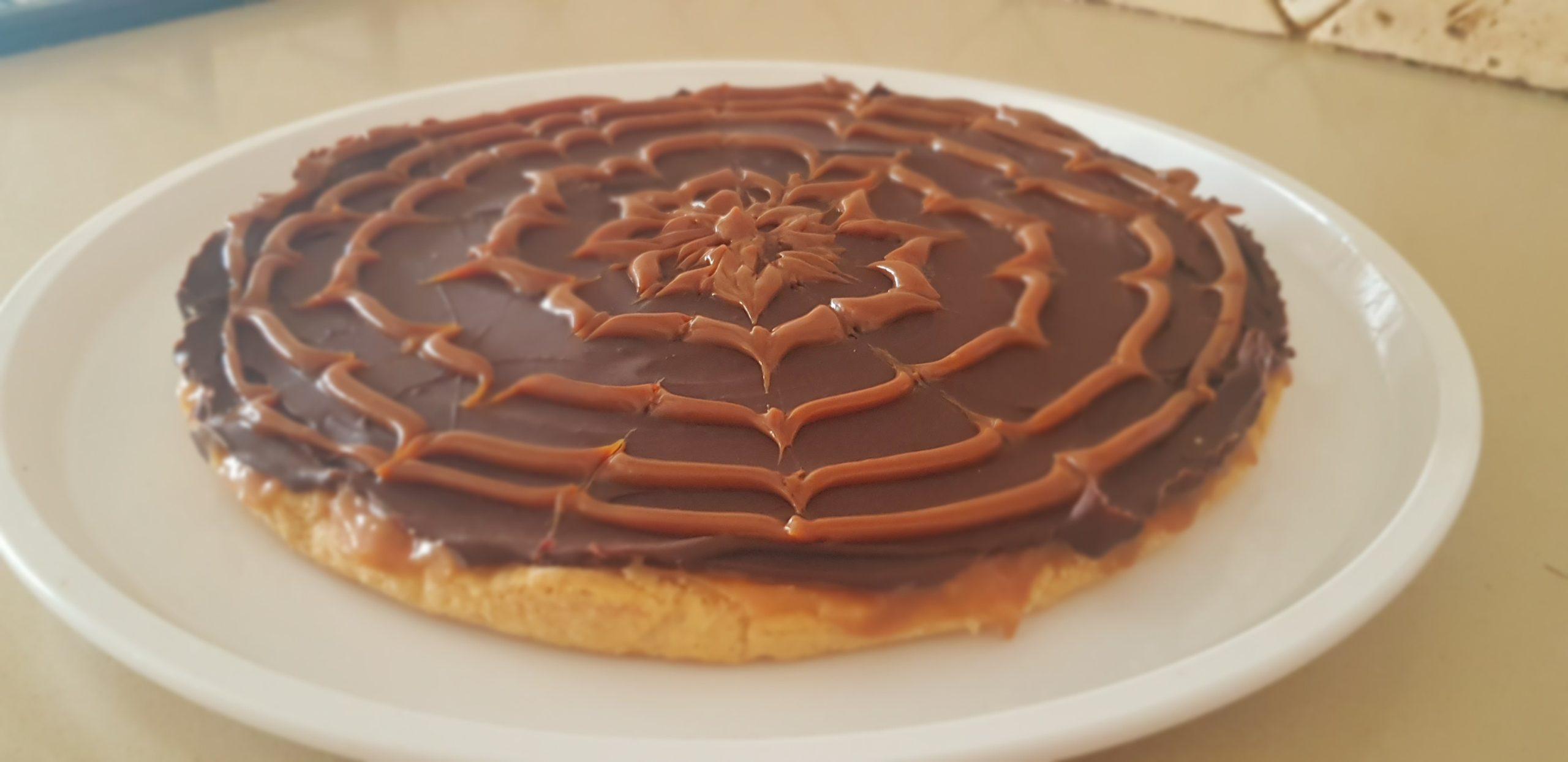 Tartes sablée au caramel et chocolat